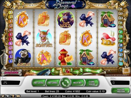 Diamond Dogs review on Big Bonus Slots