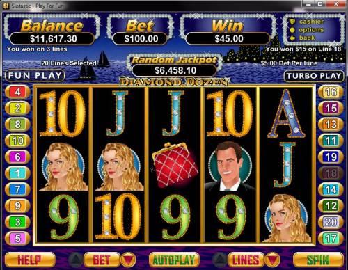 Diamond Dozen review on Big Bonus Slots