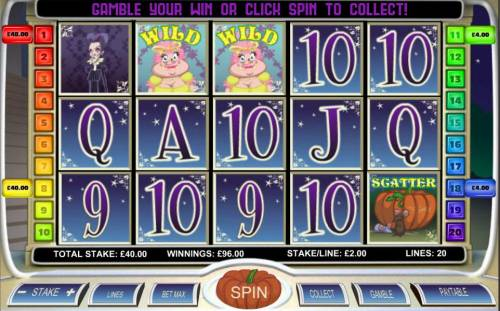Diamond Slipper Big Bonus Slots Multiple winning paylines