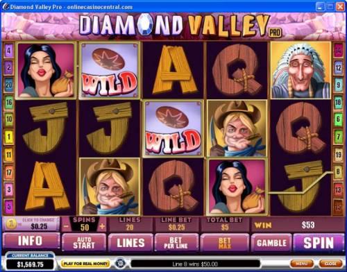 Diamond Valley Pro review on Big Bonus Slots
