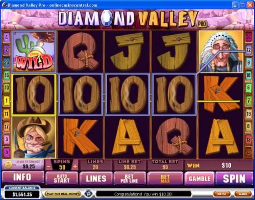 Diamond Valley Pro Big Bonus Slots