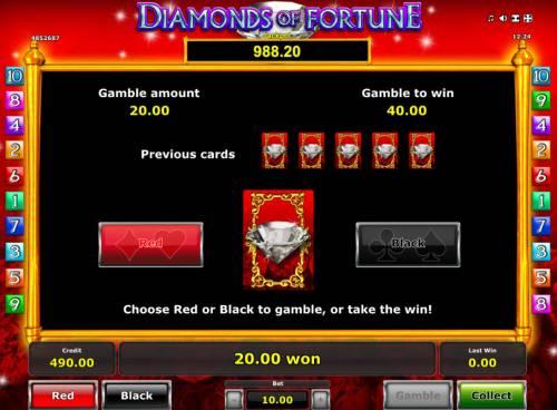 Diamonds of Fortune review on Big Bonus Slots