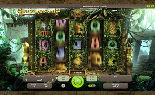 Diego Fortune review on Big Bonus Slots
