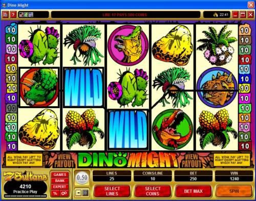 Dino Might review on Big Bonus Slots