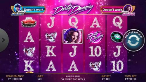 Dirty Dancing review on Big Bonus Slots