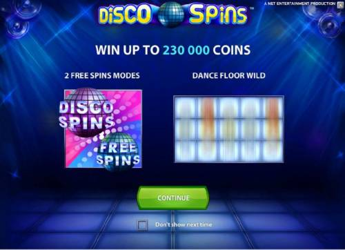 Disco Spins Big Bonus Slots win up to 230000 coins