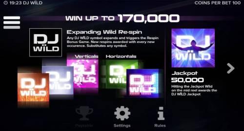 DJ Wild review on Big Bonus Slots