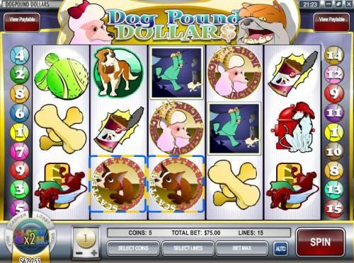 Dog Pound Dollar$ review on Big Bonus Slots