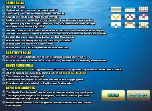 Dolphin King review on Big Bonus Slots