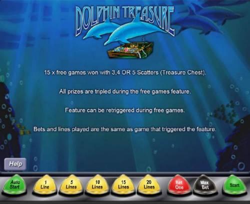 Dolphin Treasure review on Big Bonus Slots