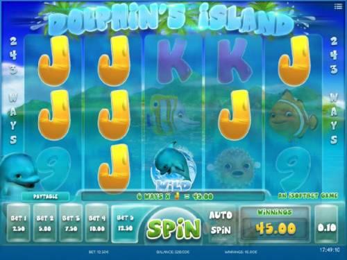 Dolphin's Island review on Big Bonus Slots