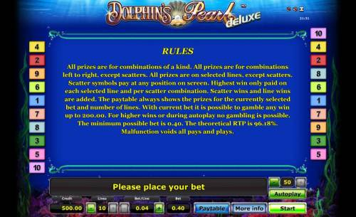 Dolphin's Pearl Deluxe review on Big Bonus Slots