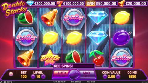 Double Stacks review on Big Bonus Slots