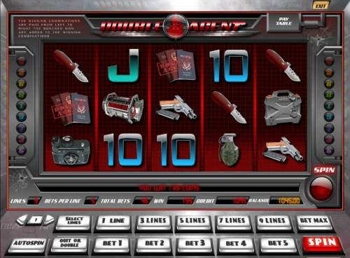 Double Agent review on Big Bonus Slots