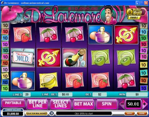 Dr. Lovemore review on Big Bonus Slots