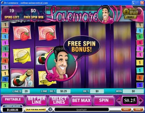 Dr. Lovemore review on Big Bonus Slots