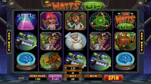 Dr Watts Up review on Big Bonus Slots