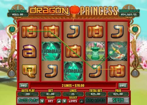 Dragon Princess review on Big Bonus Slots