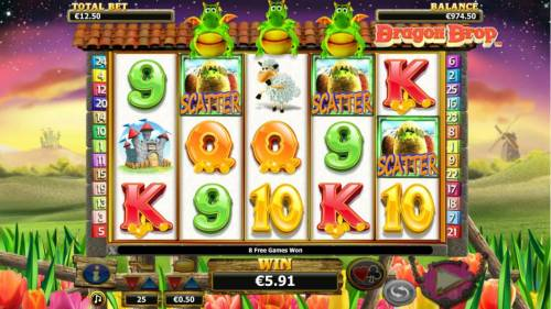 Dragon Drop review on Big Bonus Slots