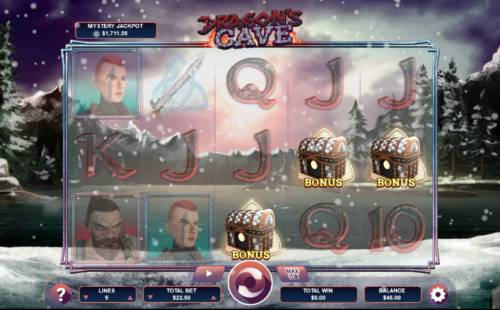 Dragon's Cave review on Big Bonus Slots