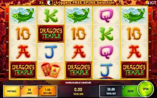 Dragon's Temple review on Big Bonus Slots