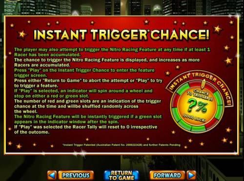 Dream Run Big Bonus Slots Instant Trigger Chance Rules.