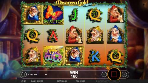 Dwarven Gold Deluxe review on Big Bonus Slots