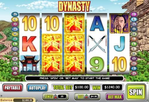 Dynasty review on Big Bonus Slots