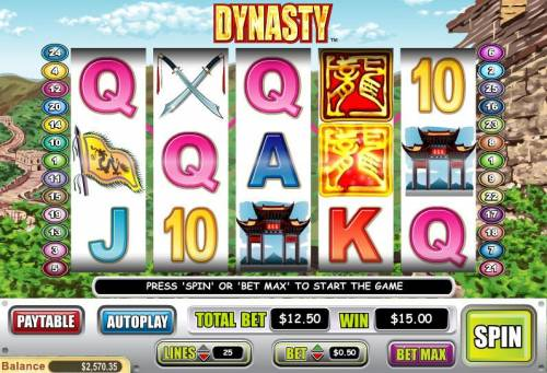 Dynasty review on Big Bonus Slots