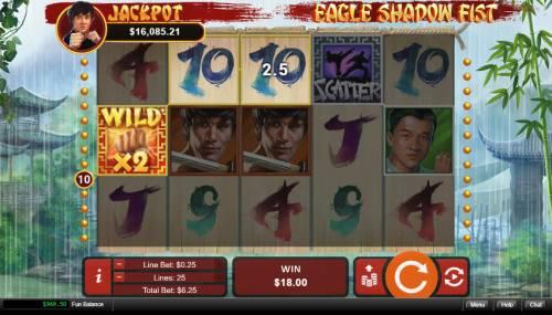 Eagle Shadow Fist review on Big Bonus Slots