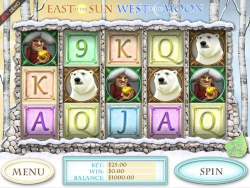 East of the Sun West of the Moon review on Big Bonus Slots
