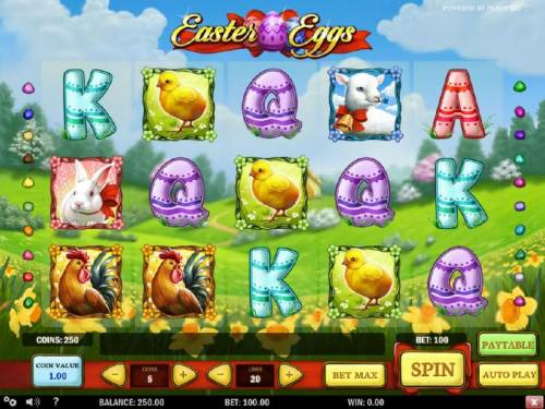 Easter Eggs review on Big Bonus Slots