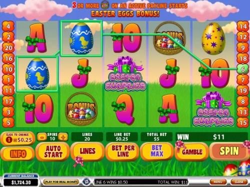 Easter Surprise review on Big Bonus Slots