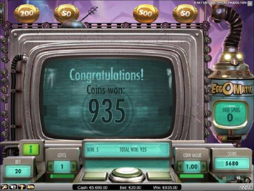 EggOMatic review on Big Bonus Slots