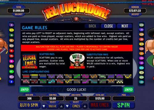 El Luchador review on Big Bonus Slots