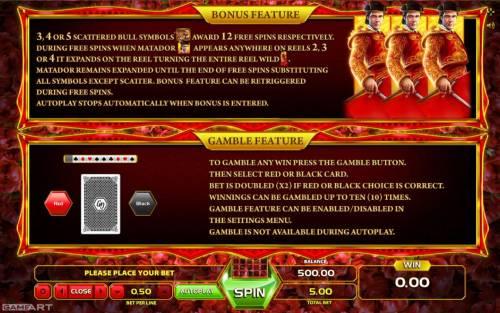 El Toreo review on Big Bonus Slots