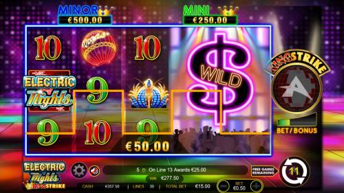 Electric Nights King Strike review on Big Bonus Slots
