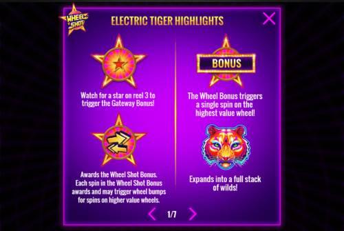 Electric Tiger review on Big Bonus Slots