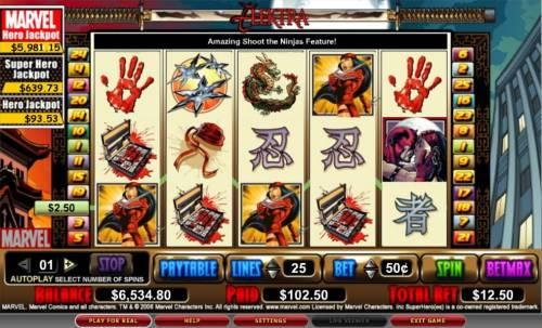 Elektra review on Big Bonus Slots
