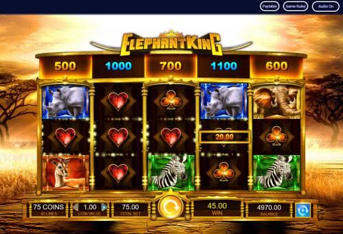 Elephant King review on Big Bonus Slots