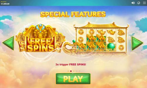 Elephant Treasure Big Bonus Slots Special Features