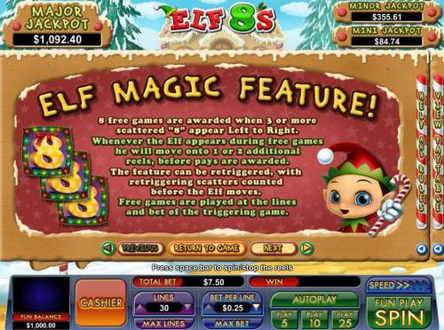 Elf 8's review on Big Bonus Slots