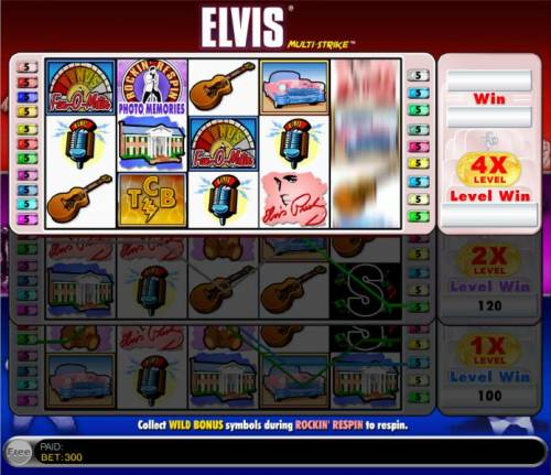 Elvis Multi - Strike review on Big Bonus Slots