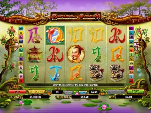 Emperor's Garden review on Big Bonus Slots
