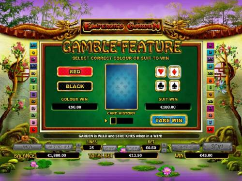 Emperor's Garden review on Big Bonus Slots