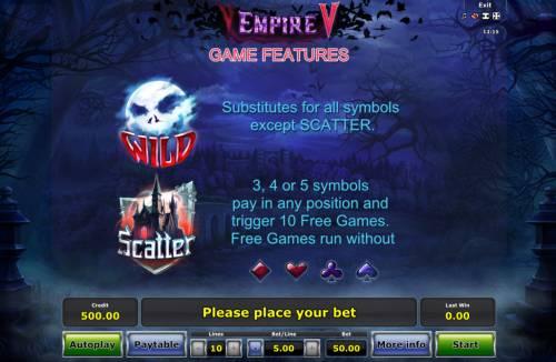 Empire V review on Big Bonus Slots
