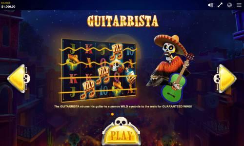 Esqueleto Mariachi Big Bonus Slots Guitarrista