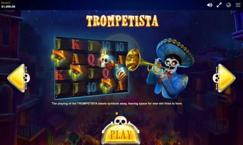 Esqueleto Mariachi Big Bonus Slots Trompetista