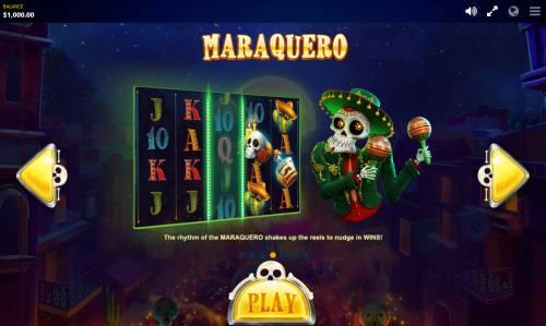 Esqueleto Mariachi Big Bonus Slots Maraquero