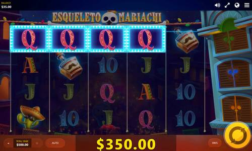 Esqueleto Mariachi Big Bonus Slots Four of a kind